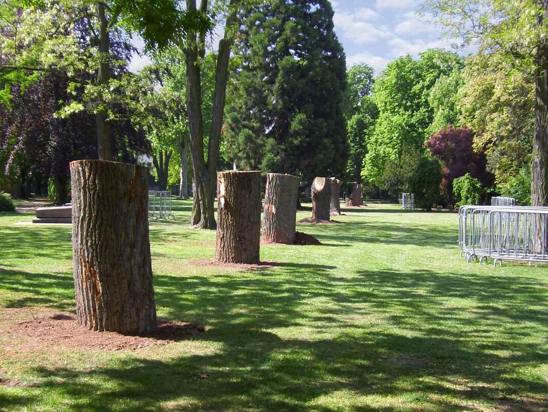 Bildhauersymposium 2011 im Albert-Schulte Park